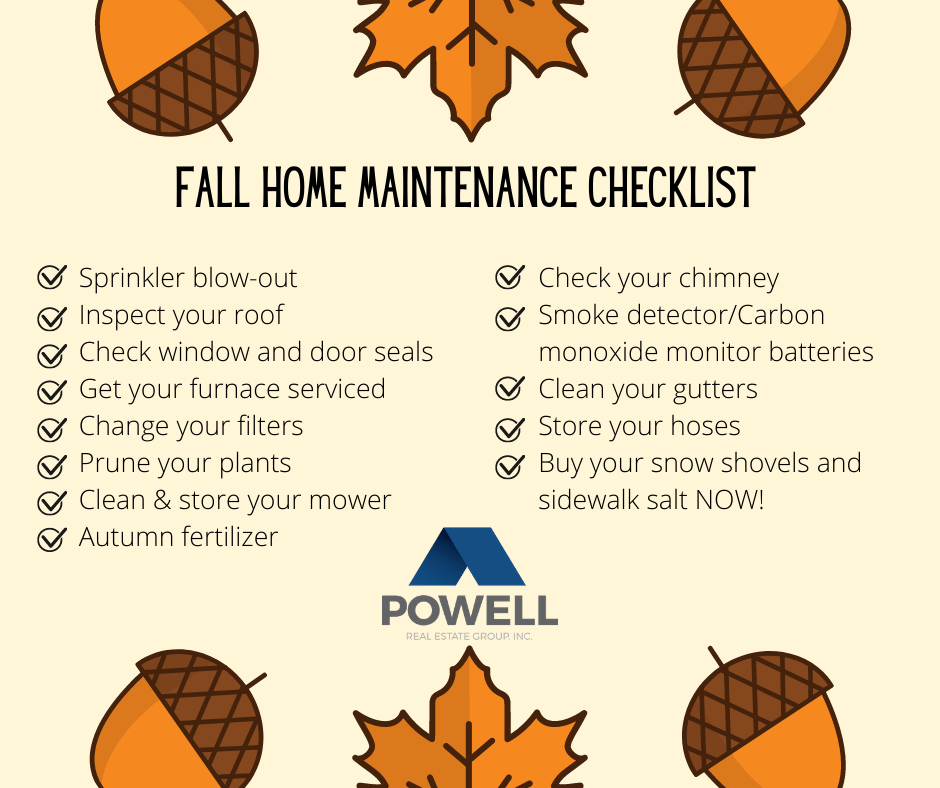 Powell Real Estate Group's Fall Maintenance Checklist for Tri-Cities, Washington Homeowners