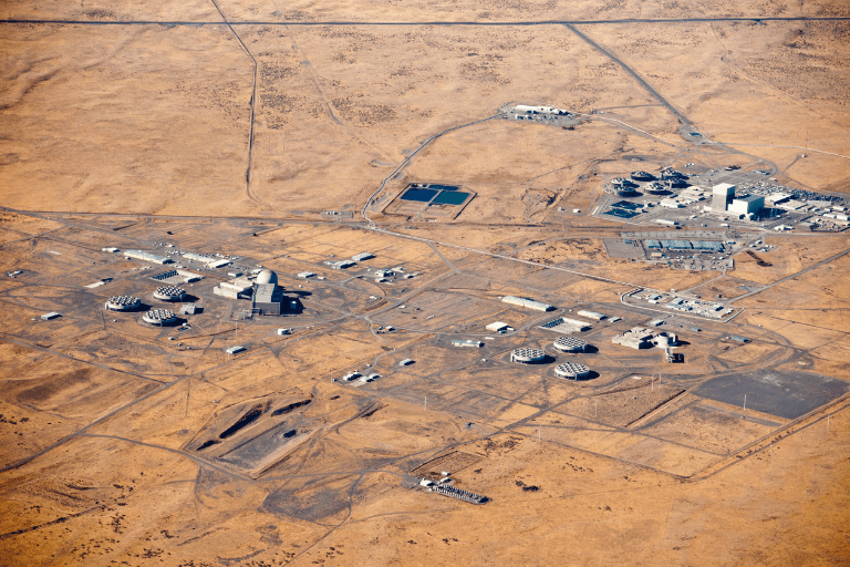 Hanford site near Richland, Washington.